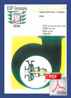 Centrifugal Pumps EVA - PDF to download